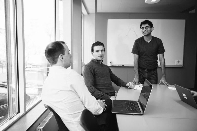 PKI deployment - people having a meeting